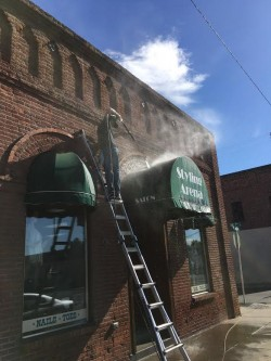 Canopy and Awning Cleaning in Richland WA & Commercial Canopy u0026 Awning Cleaning in Richland WA
