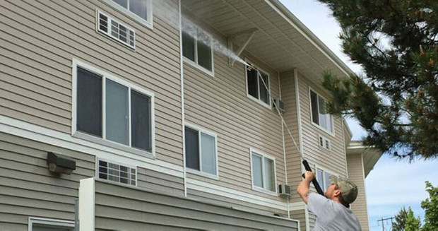 house siding cleaning